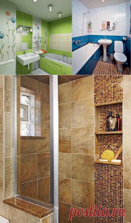 30 замечательных идей для тех, у кого маленькая ванная.