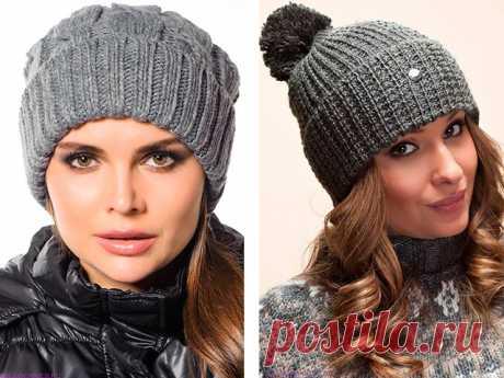 Связать шапку спицами для женщины новые модели
