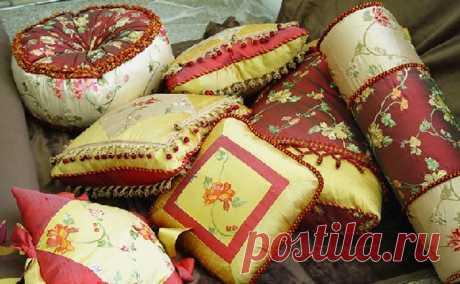 Декоративные подушки и подушечки — Домашний уют