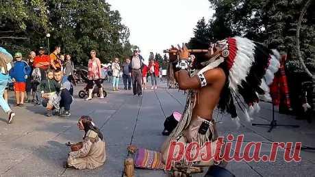 Чудо как трогательно и красиво! В этой музыке бесконечная энергия и сила индейского народа
