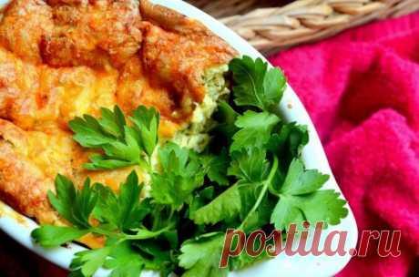 Творожно-картофельное суфле с кинзой — Sloosh – кулинарные рецепты