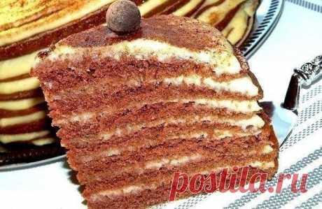 Как приготовить не торт, а настоящий восторг   - рецепт, ингредиенты и фотографии