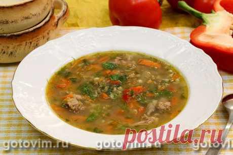 Суп с бараниной и машем. Рецепт с фото Для приготовления бульона для супа подойдут бараньи ребрышки или баранья шейка. Варить суп надо на слабом огне, снимая пену, чтобы бульон получится прозрачным. Маш перед закладкой в суп можно залить водой и оставить на несколько. Тогда он сварится очень быстро.