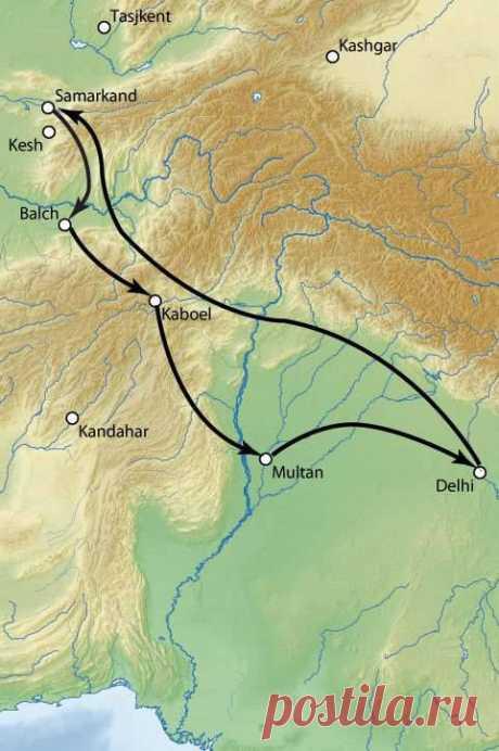 Как Тимур устроил кровавый погром в Индии » Военное обозрение