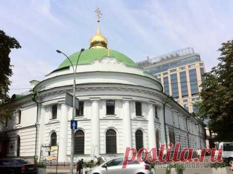 Киевские монастыри. Часть 9. Свято-Введенский монастырь