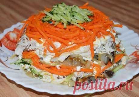 Просто,быстро,вкусно, салат «Восторг» | Эфария