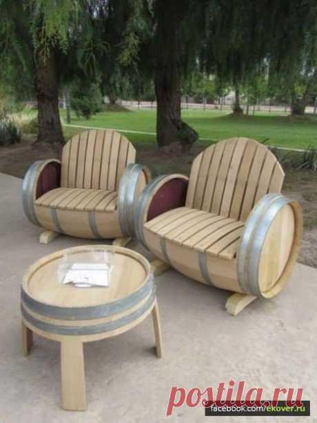 (1) Эковер - Хроника - Хорошая идея для дачной мебели.