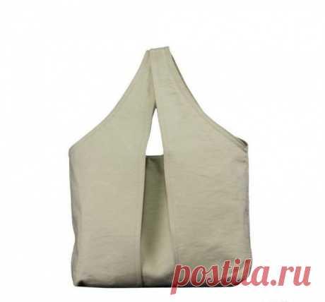 Вместительная сумка для покупок на скорую руку