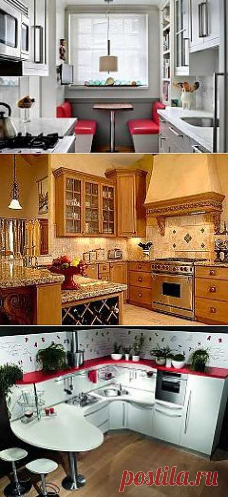 Идеи для кухни. Много интересных дизайнов.