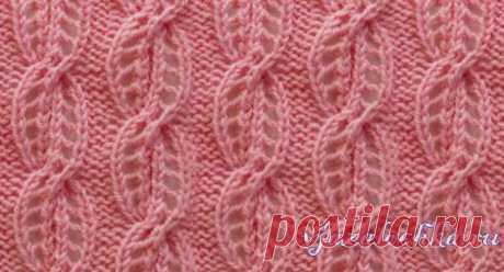 """Pattern \""""Openwork braids\"""" spokes"""