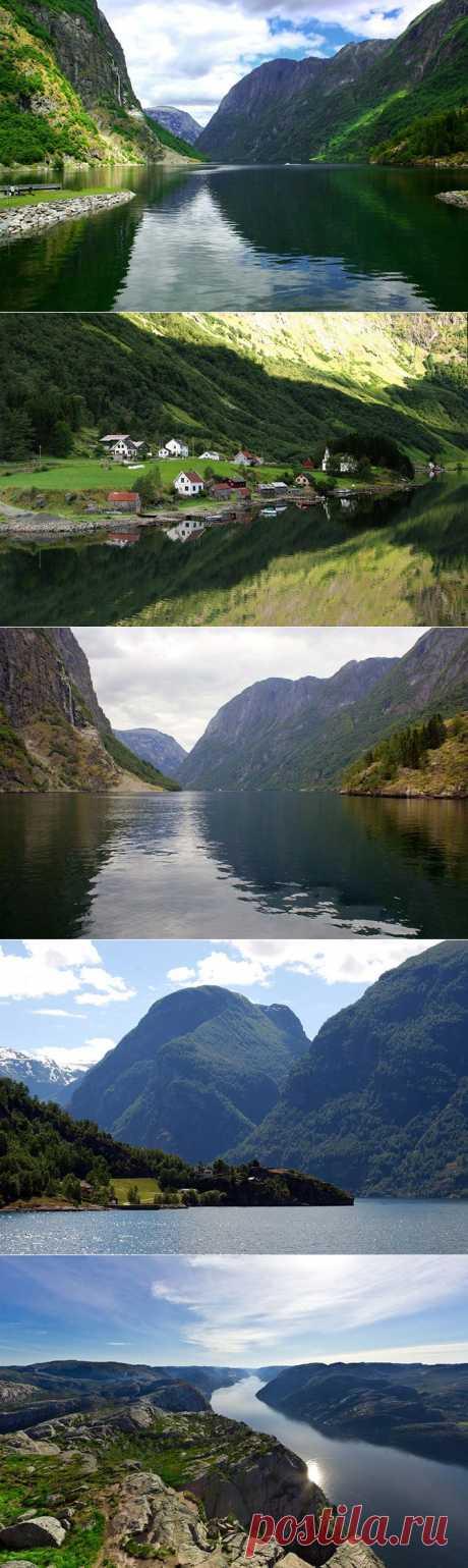 Самые красивые фьорды Норвегии | Fresher - Лучшее из Рунета за день