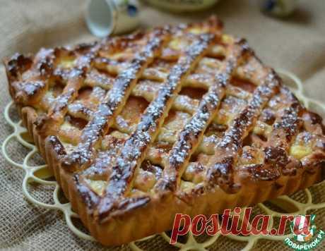 Абрикосово-творожный пирог – кулинарный рецепт