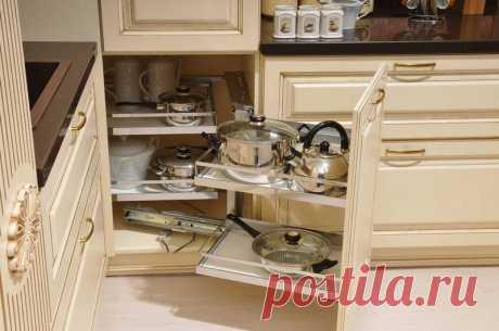 Разнообразие выдвижных систем для кухни   Наши дома