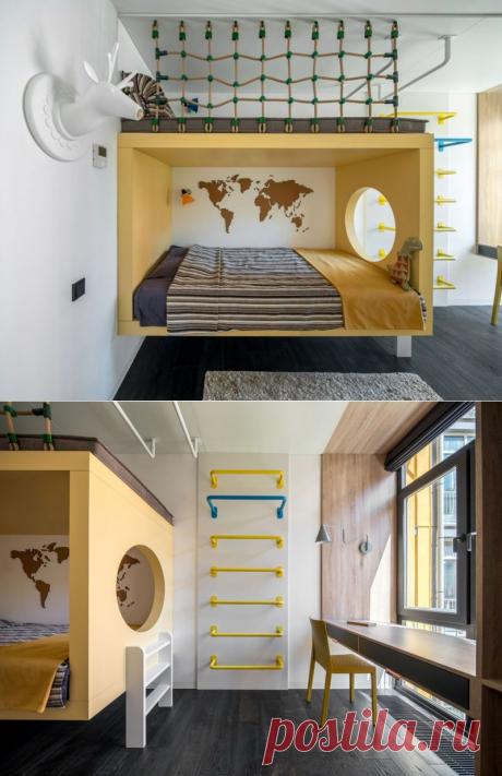 Стеклянные стены для зонирования киевской квартиры — Lodgers - Дизайн интерьера