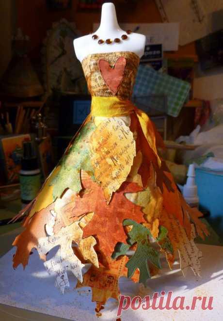 Платье из бумаги своими руками - 66 фото идей оригинальных бумажных платьев