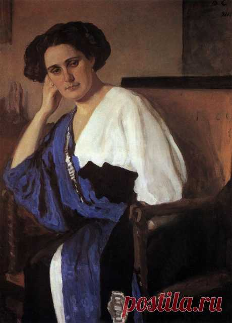 Портрет Е.А.Балиной. 1911     Валентин Александрович Серов (1865-1911). Часть 1: vakin