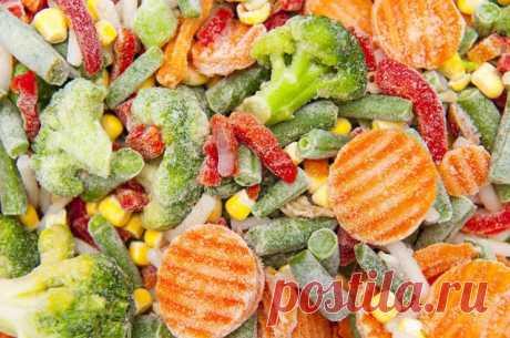 Овощи в шоке. Полезны ли замороженные продукты? Зима в разгаре. Свежих овощей, фруктов и ягод на прилавках очень мало, они дорогие и качество их несравненно хуже, чем летом.