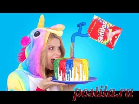 Радужная еда для единорога – 10 идей