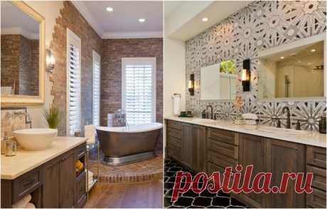 20 вариантов ванных комнат, которые обязательно нужно взять на заметку тем, кто планирует ремонт | Мой дом