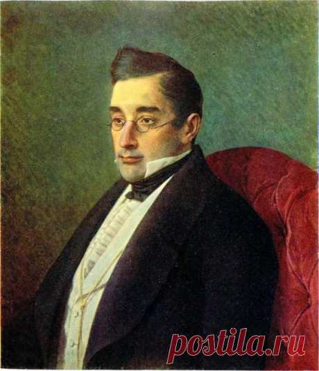И.Н. Крамской. Александр Сергеевич Грибоедов. 1873