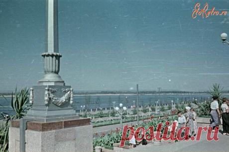 Как выглядели набережная и Струковский сад в Самаре 70 лет назад | От Куйбышева до Самары | Яндекс Дзен
