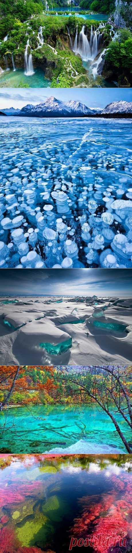 (+1) тема - 8 самых красивых водных ландшафтов мира   Среда обитания