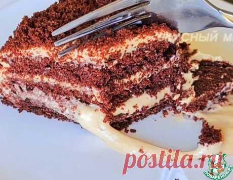 Быстрый шоколадный торт – кулинарный рецепт