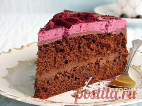 Шоколадный торт с черной смородиной - пошаговый рецепт с фото на Готовим дома