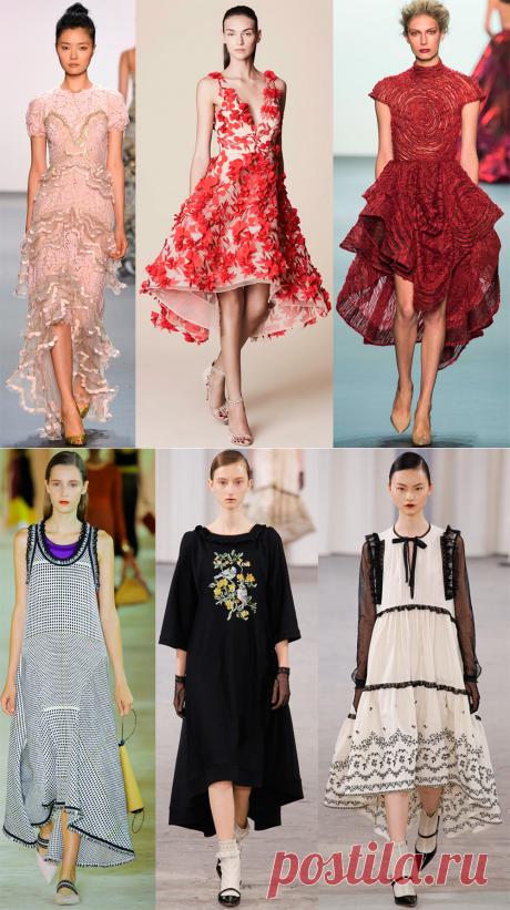 Платье маллет 2017 – фото лучших моделей