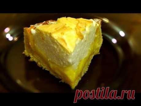 El pastel de limón del merengue. La preparación poshagovoe en las condiciones de casa.