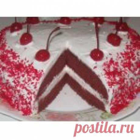 """Торт """"Красный бархат"""" - еще один вариант"""