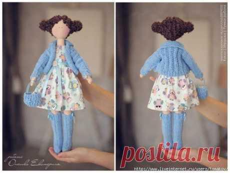 Шьем интерьерную куклу Шьем интерьерную куклуАвтор: Екатерина Онешко.