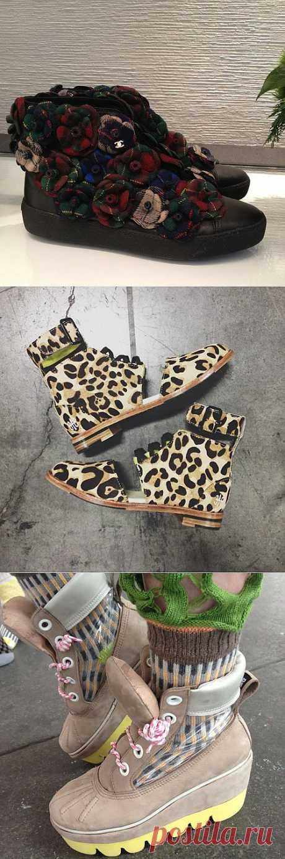 Три примера креативной обуви / Креатив / Модный сайт о стильной переделке одежды и интерьера