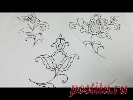 Вышивка: Майорка крючком  Embroidery Mallorca : Сrochet  Punto Mallorquín bordado de ganchillo
