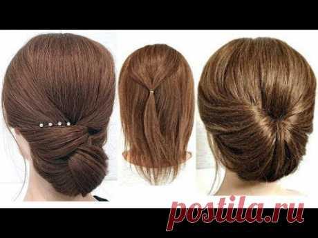 15 Простых причесок на Короткие волосы из РЕЗИНОК. 15 Simple Hairstyles for Short Hair by RUBBERS