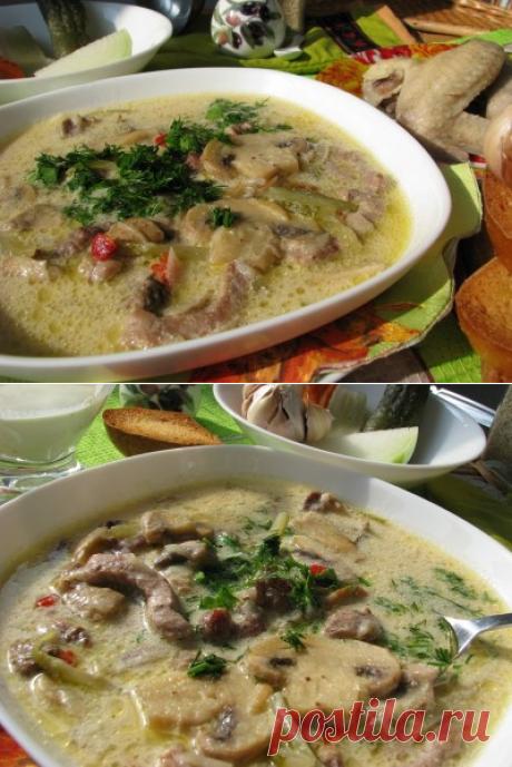 Суп а-ля Строганов - согревающий, наваристый, ароматный! | Четыре вкуса