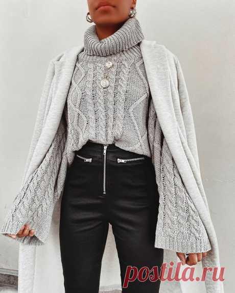 Модный свитер осень 2020: модели, которые можно подобрать под любую фигуру (+13 фото) | Идеи стильных людей ✮ | Яндекс Дзен