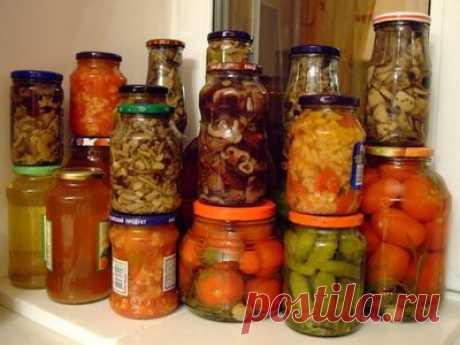 Консервирование - кулинарные рецепты. Миллион Меню