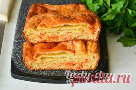 Минутный пирог из капусты, который тает во рту: рецепт с фото пошагово | Простые рецепты с фото