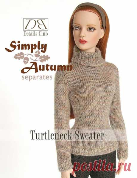 Knitting pattern for 16 doll Tyler Wentworth: от DBDollPatterns