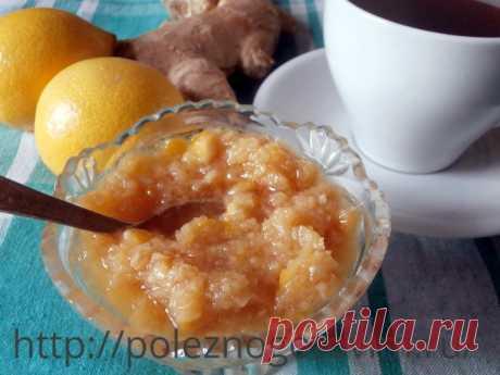 Имбирь, лимон и мед – вкусная смесь для иммунитета! Имбирь, лимон и мед - отличное профилактическое средство для иммунитета. Готовится смесь просто, а обладает ценными противовоспалительными свойствами.