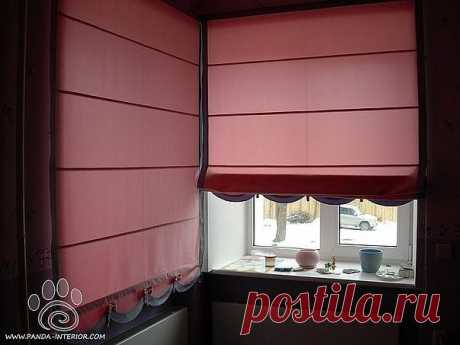 Шьем сами римские шторы: мастер-класс — Сделай сам, идеи для творчества - DIY Ideas