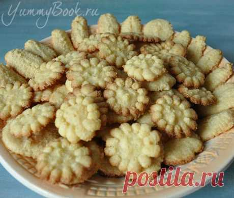 Песочное печенье на майонезе - пошаговый рецепт с фото