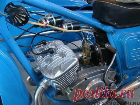 Реставрация мотоцикла Иж Юпитер-2К | Авто самоделки