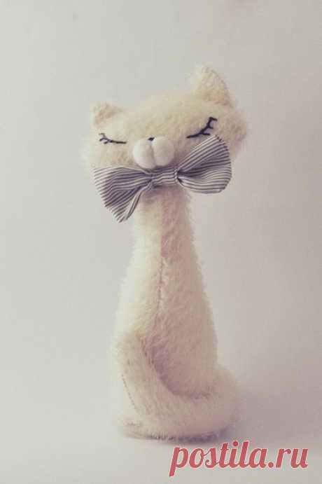 Кошечки-коты из лоскутов