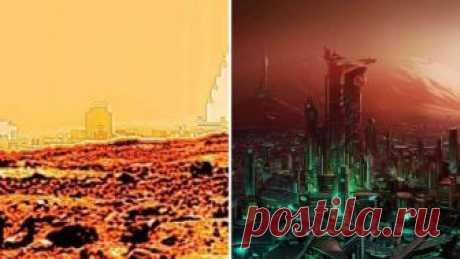 Найденный на Марсе город, шокировавший общественность, ввёл в ступор исследователей — Мир космоса
