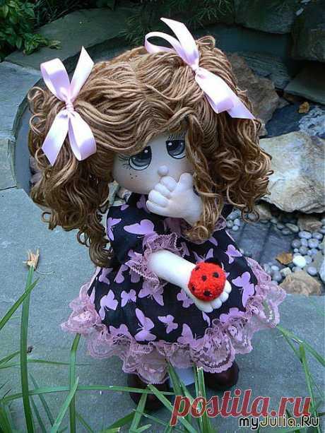 выкройка куклы - Самое интересное в блогах