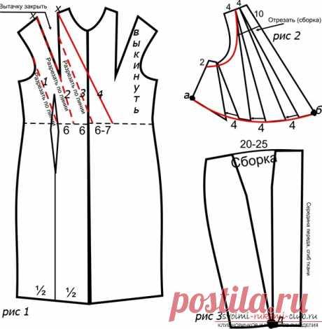 Желаете научиться делать выкройку трикотажного платья своими руками? Это достаточно просто. Узнать.