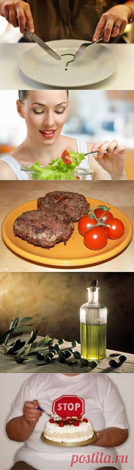 Как питаться, чтобы худеть. Общие принципы   ПолонСил.ру - социальная сеть здоровья
