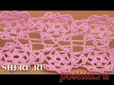 Crochet Cicles Blanket Урок 33 часть 2 из 2 Вязание мотива